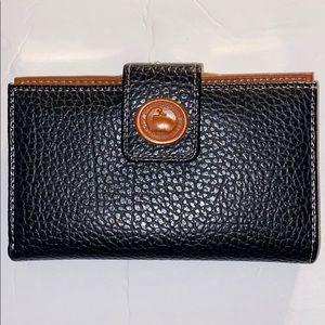"Dooney & Bourke All-Weather Leather Wallet ""cute"""